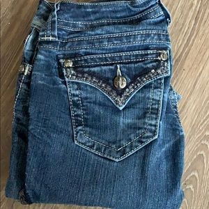 miss me jeans, skinny legged